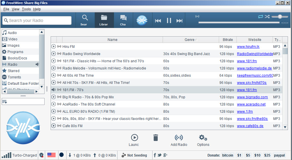 FrostWire Download Free for Windows
