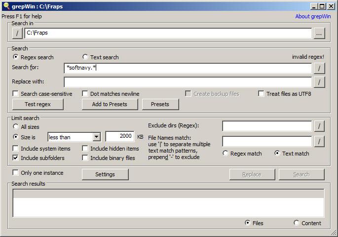 Download grepwin 32-bit majorgeeks.