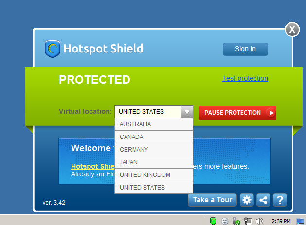 Download Hotspot Shield 7.1.3 Latest