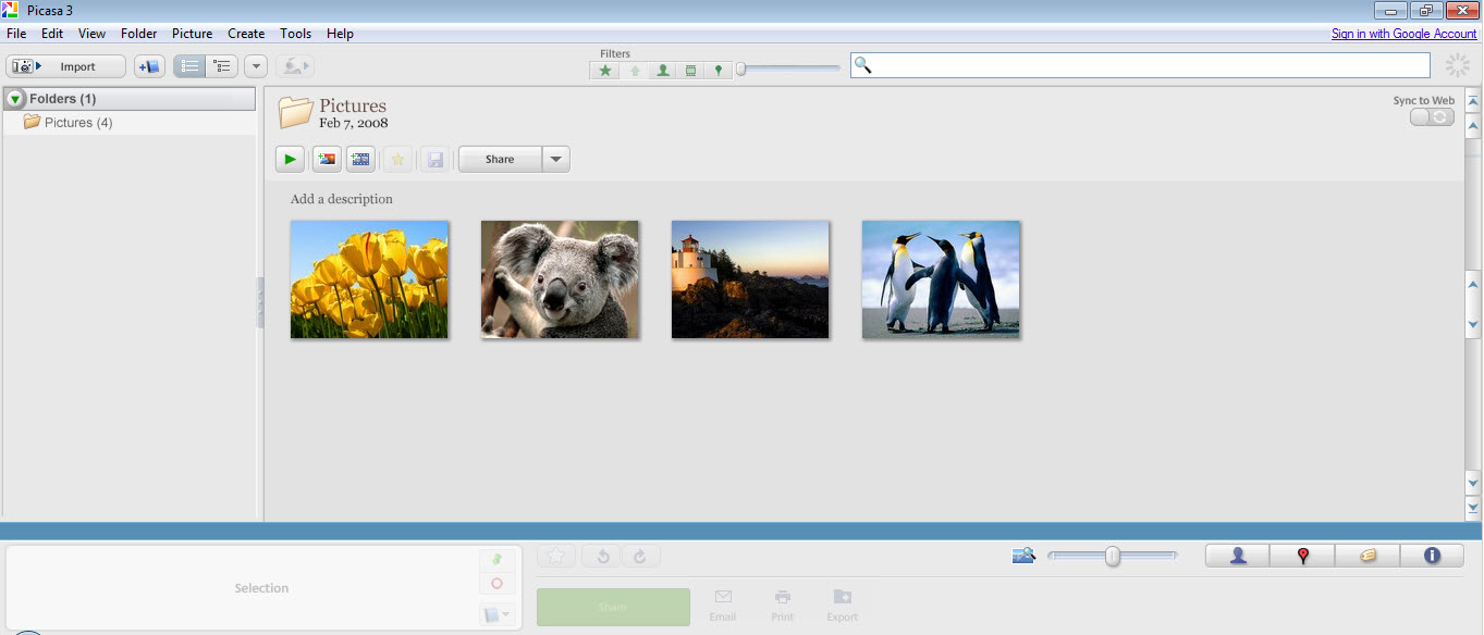 Picasa Download Free for Windows