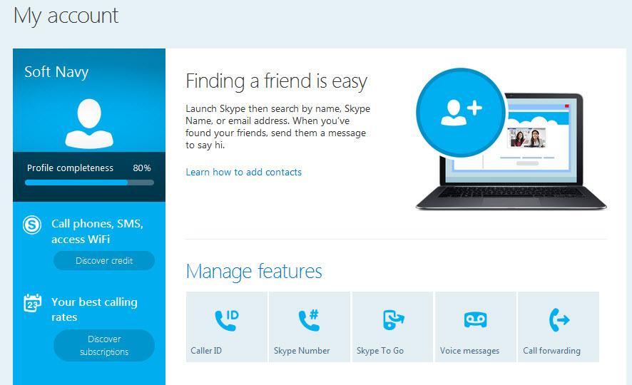 Download Skype   for windows -